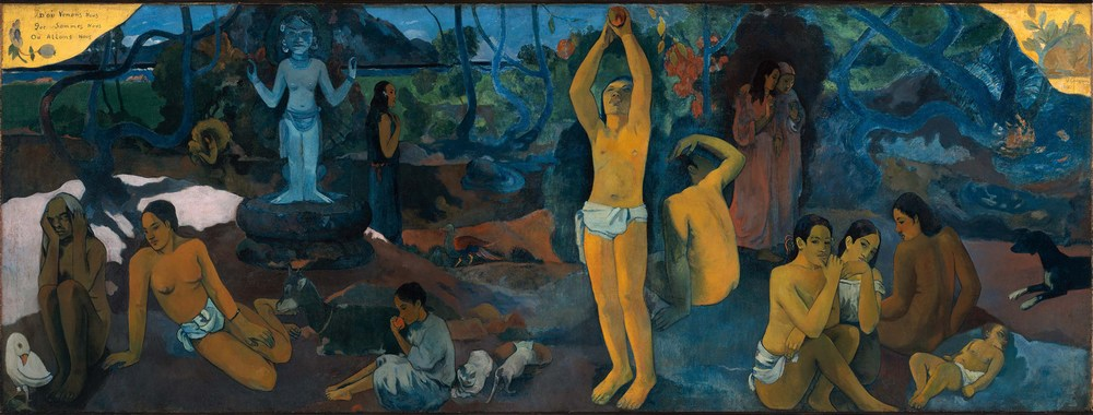 Where Do We Come From? What Are We? Where Are We Going? Is a painting by French artist Paul Gauguin