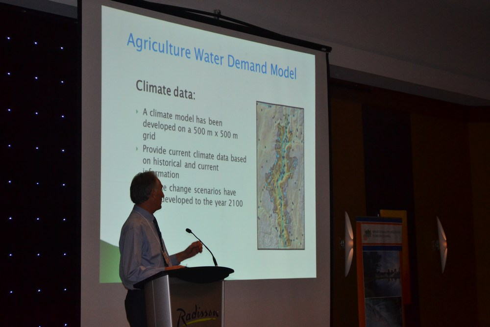 Ted van der Gulik explains the principles and methodology that underpins the Agricultural Water Demand Model