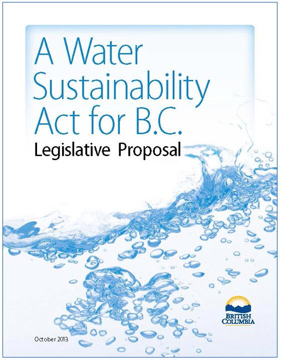 Water-Sustainability-Act_Legislative-Proposal_Oct-2013._cover