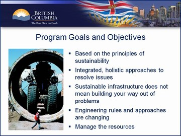 Penticton Forum - Goals and Objectives