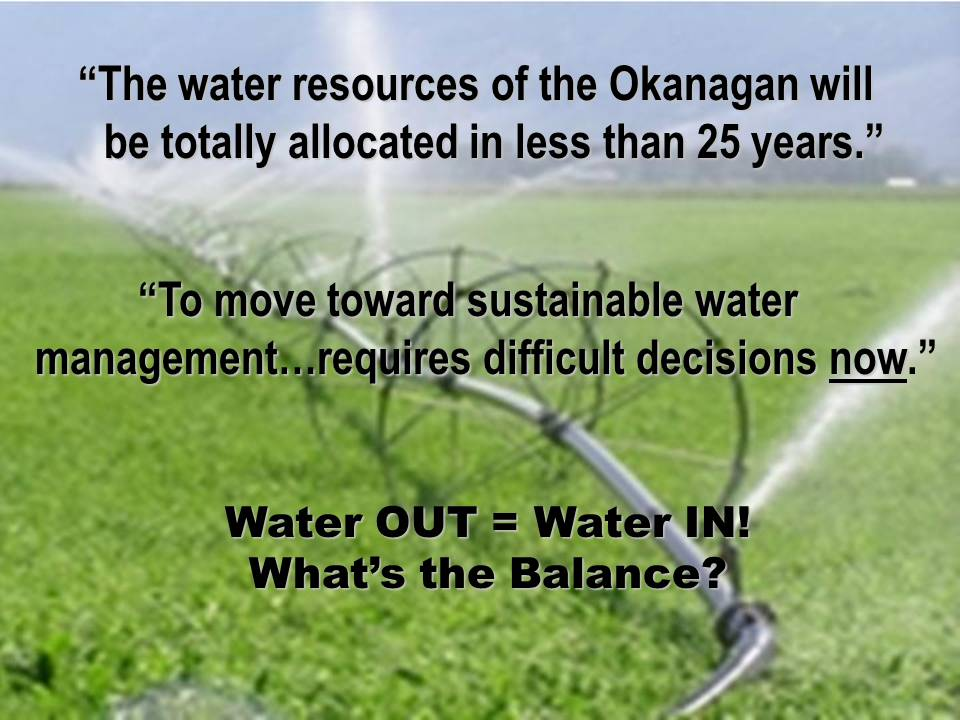 2005_CWRA_Kelowna-Conference_Okanagan-Water-Balance-Strategy_decisions