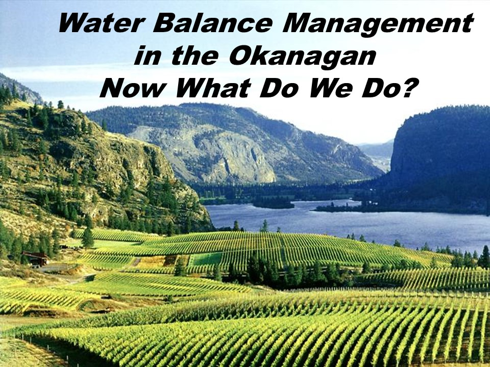 """""""In a fully integrated landscape, water is the unifying element."""" - Patrick Lucey, Nature's Revenue Streams, January 2005"""