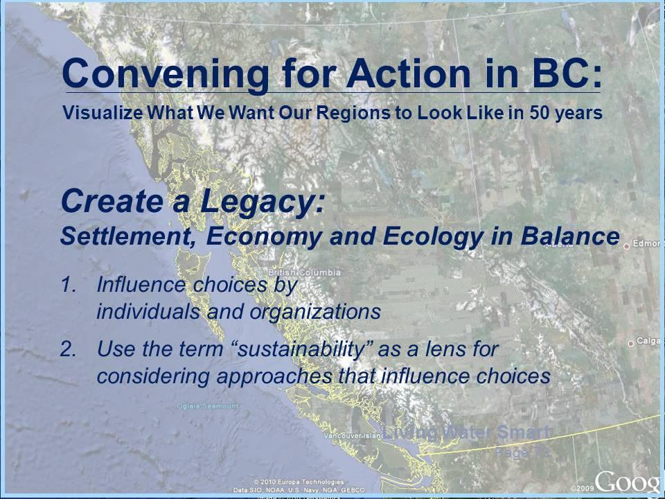 Creating a Legacy - BC_Sep2012