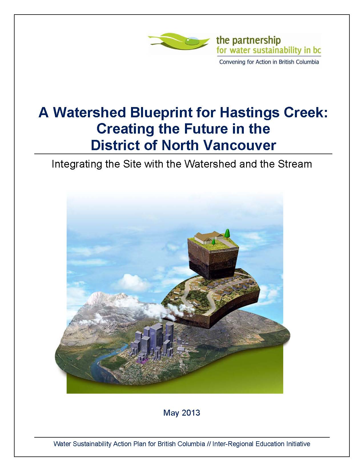 Hastings creek watershed blueprint much more than a report about the hastings creek story malvernweather Images