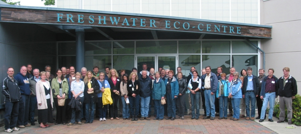 Participants in the Cowichan Valley Learning Lunch Seminar Series