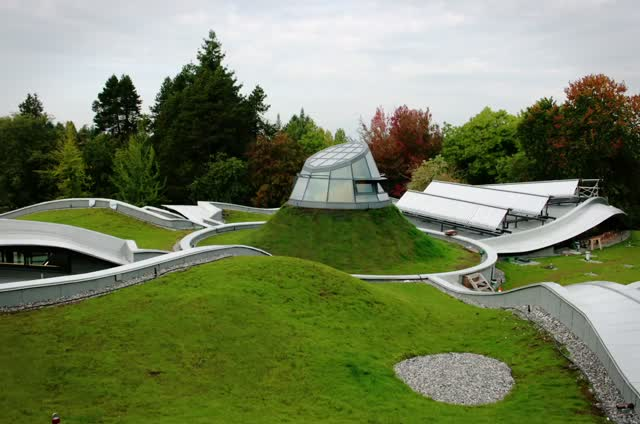 Vandusen Botanical Centre Is Canada S 1st Living Building
