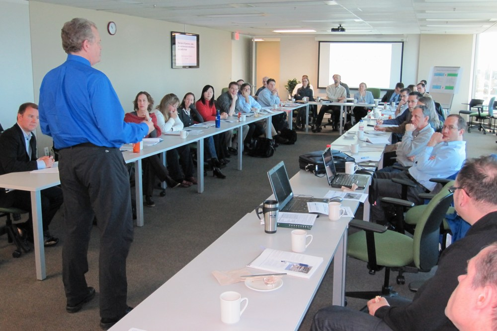 April 2011 - Charles Rowney explains modellling fundamentals at a Partners Forum hosted by Metro Vancouver