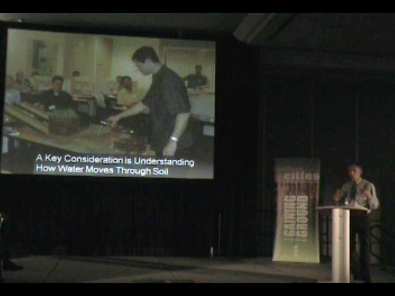 2009_Ted van der Gulik at Resilient Cities Conference
