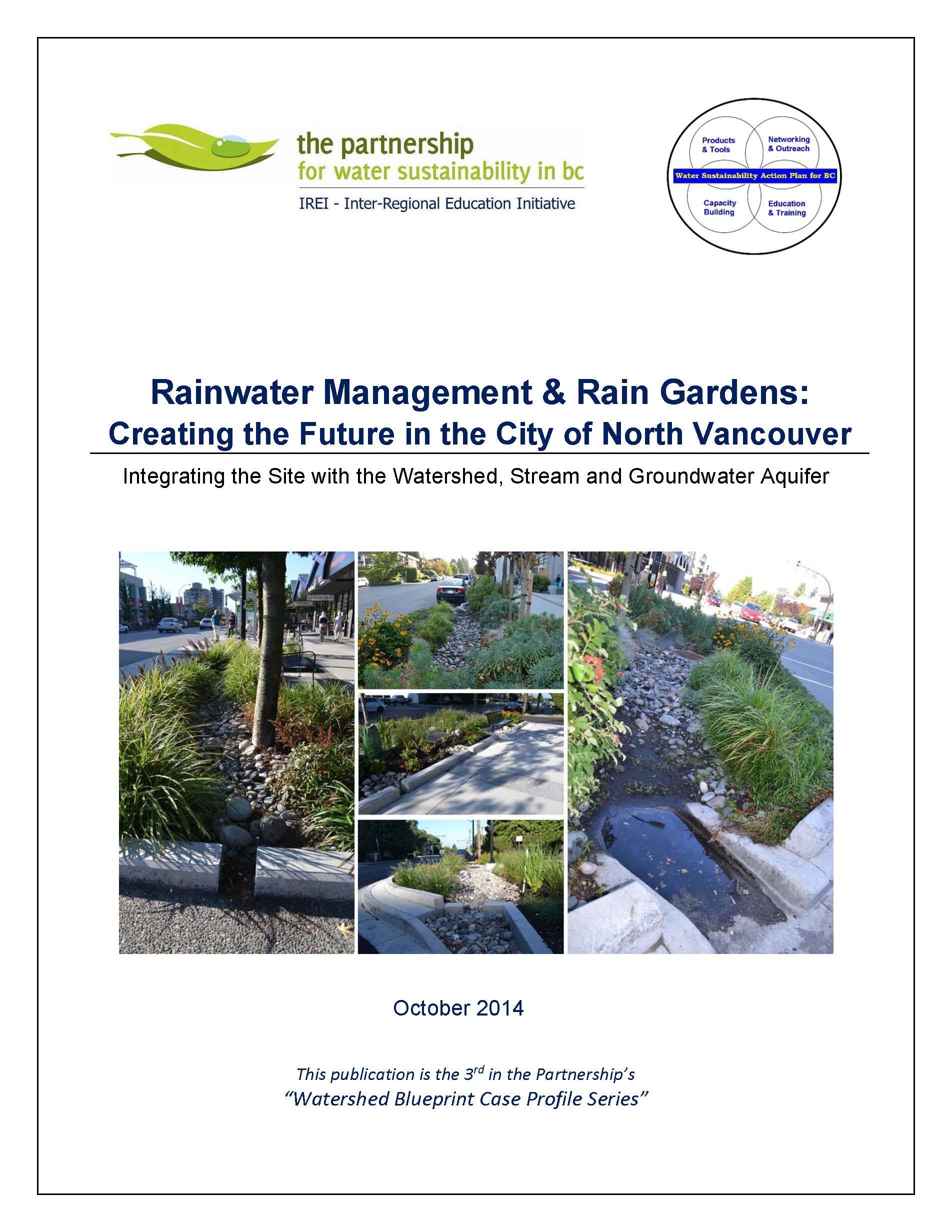City of North Van_Rainwater Management & Rain Gardens_Oct-2014_cover