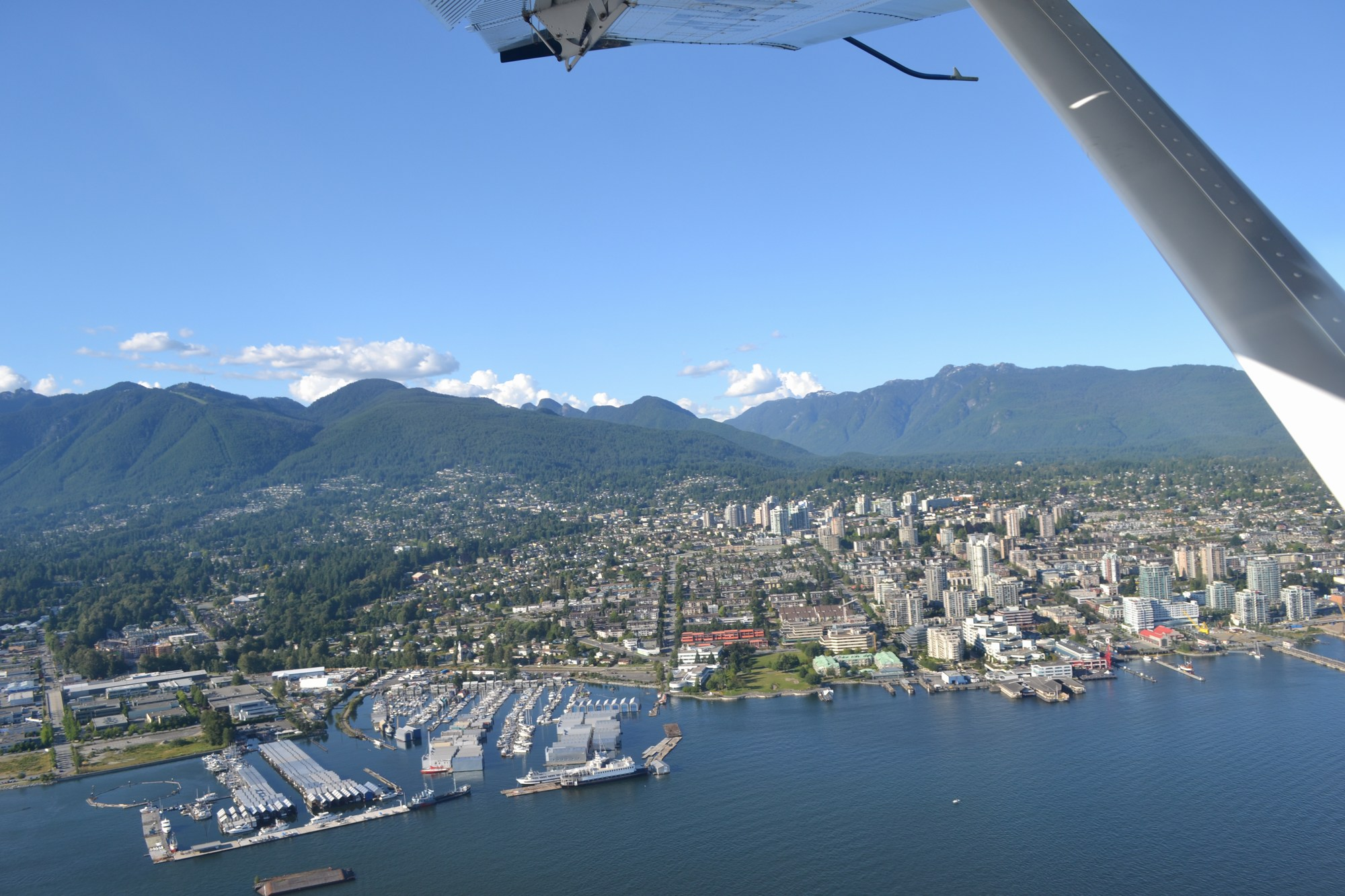 City of North Van_view from Harbour Air_June 2014_2000p