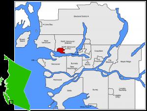 North Van City_location map