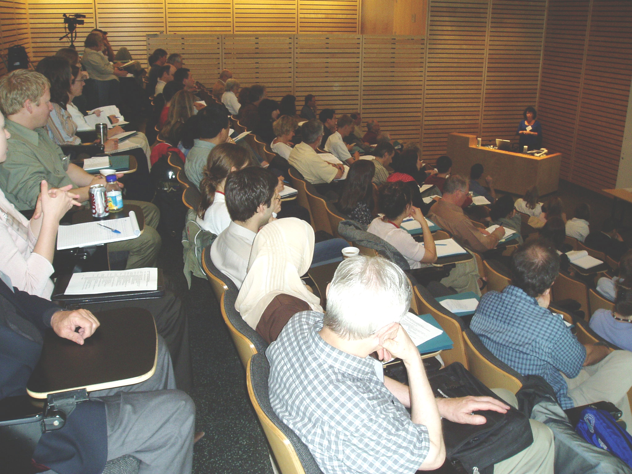 The first in the series of 'knowledge translation' events was held at UBC in June 2007.