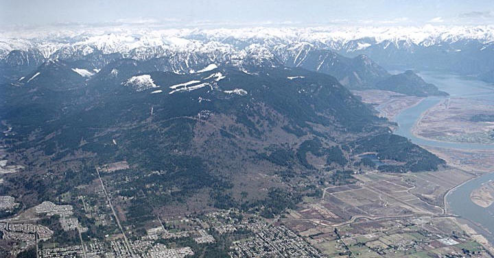 Burke Mountain in the City of Coquitlam, circa 2004