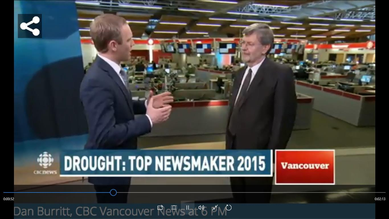 Dan Burritt of CBC News interviews Kim Stephens, Partnership for Water Sustainability in BC (Click on image or follow this link: https://waterbucket.ca/wp-content/uploads/2015/12/2015-12-23-KimStephensCBCnosubtitles.mp4)