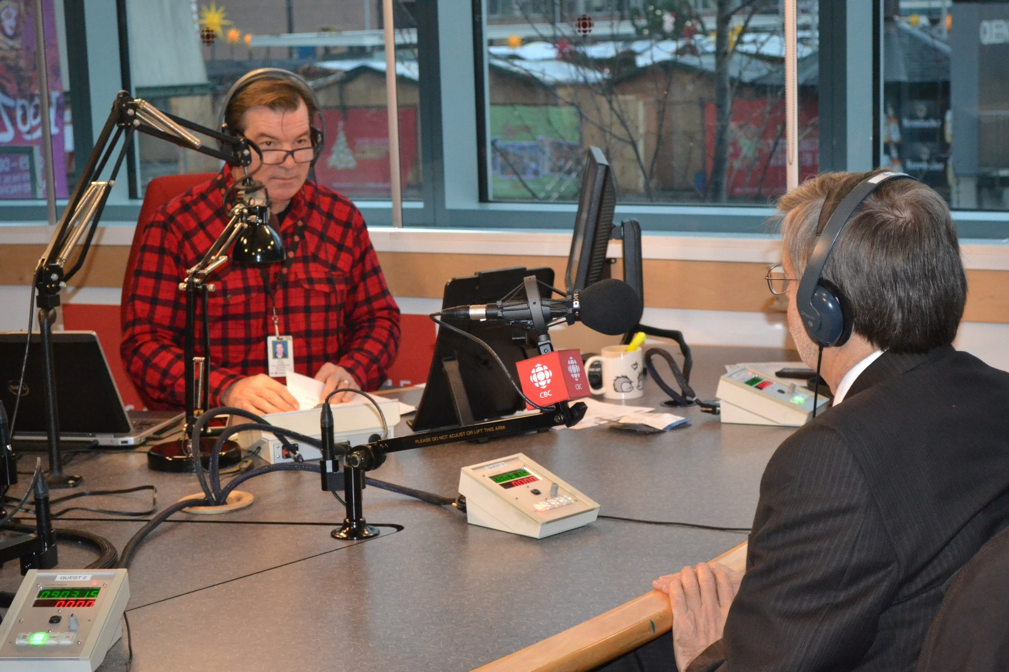 "Stephen Quinn of CBC Radio interviews Kim Stephens, Partnership for Water Sustainability in BC, on ""The Early Edition"" show for December 23 (Click on image or follow this link: https://waterbucket.ca/atp/files/2015/12/Kim-Stephens.mp3)"