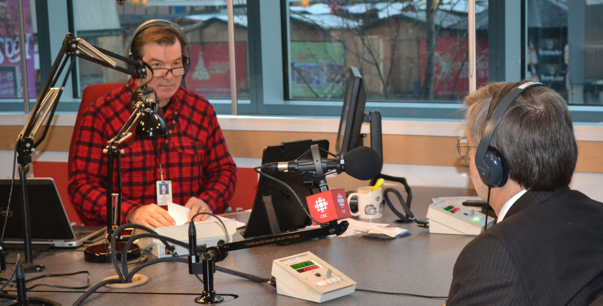 """Stephen Quinn of CBC Radio interviews Kim Stephens, Partnership for Water Sustainability in BC, on """"The Early Edition"""" show for December 23 (Click on image or follow this link: https://waterbucket.ca/atp/files/2015/12/Kim-Stephens.mp3)"""