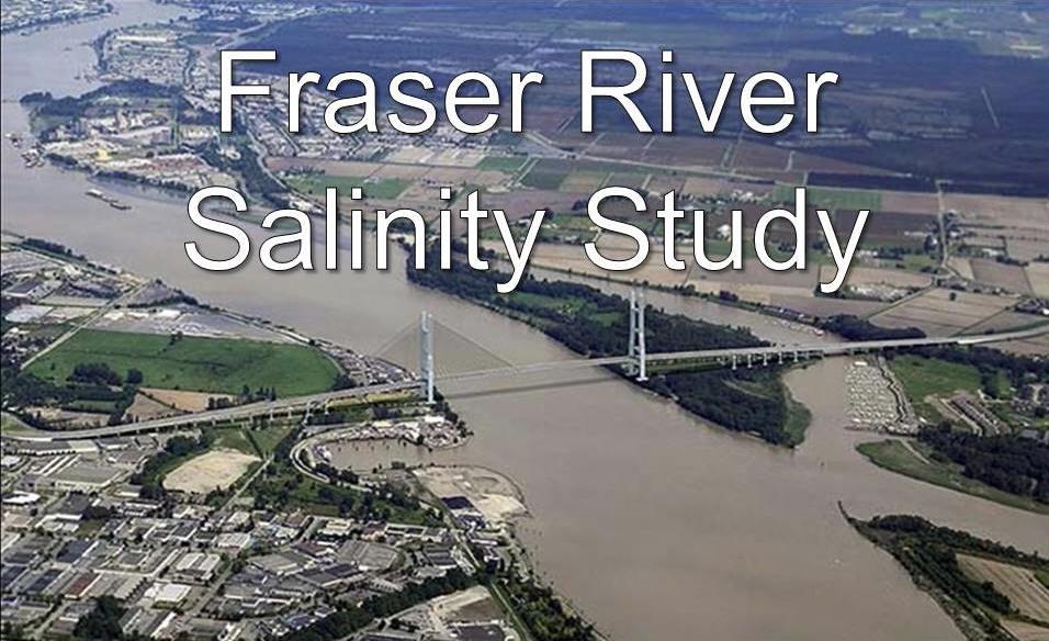 Fraser River Salinity Study