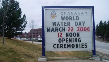 UBC-Okanagan_WorldWaterDay_March2006