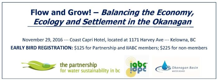 ONLINE REGISTRATION: Visit the IIABC website (and follow the links) https://www.irrigationbc.com PROGRAM OVERVIEW: Download Flow and Grow