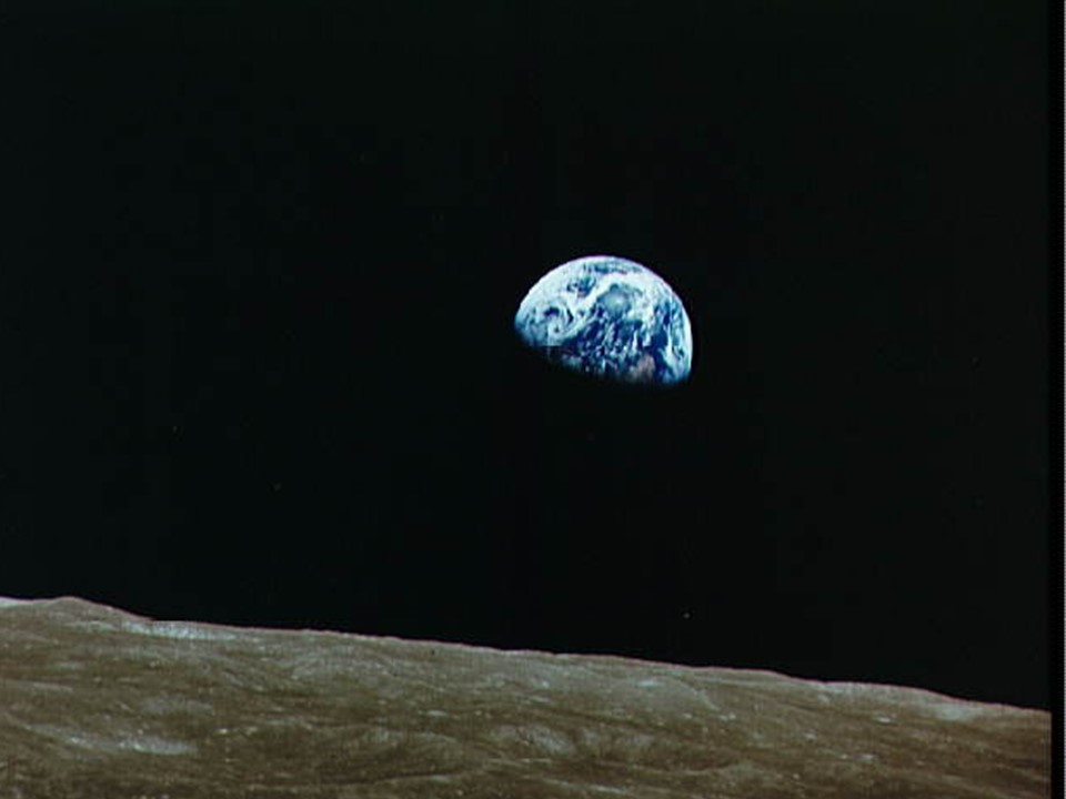 1972 - The last photo of the earth to be taken of Earth by an astronaut.