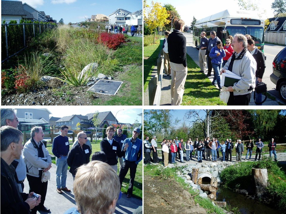 Showcasing of green infrastructure innovation in Langley Township, 2007