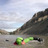 Fin-Donnelly_swimming Fraser River_160p