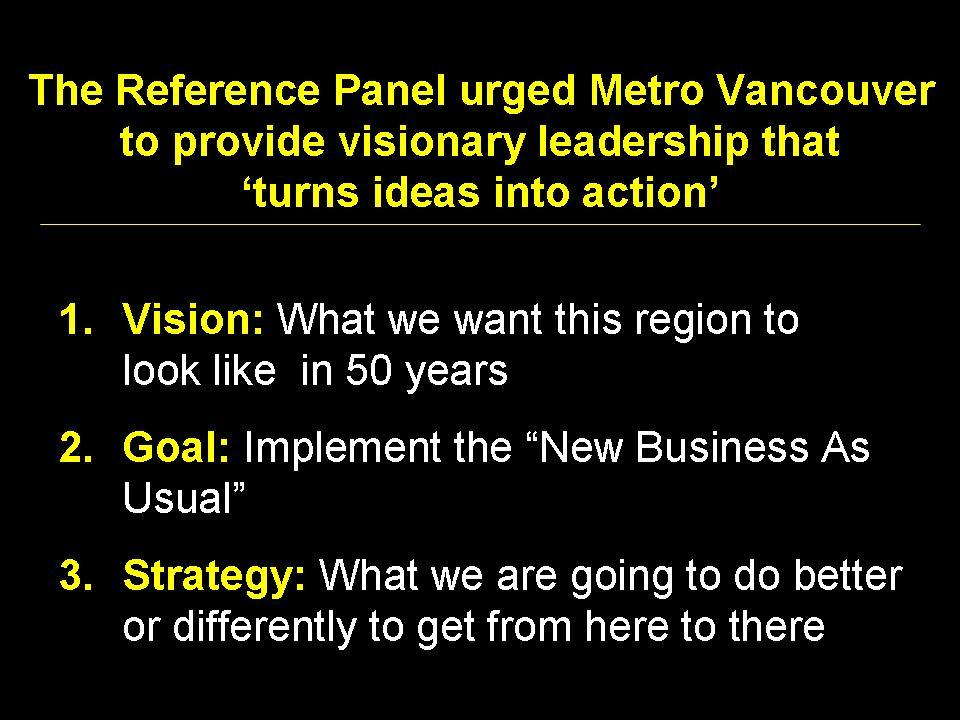 2008_Metro Van_Reference Panel_Leadership