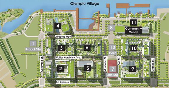 SE False Creek_overview plan