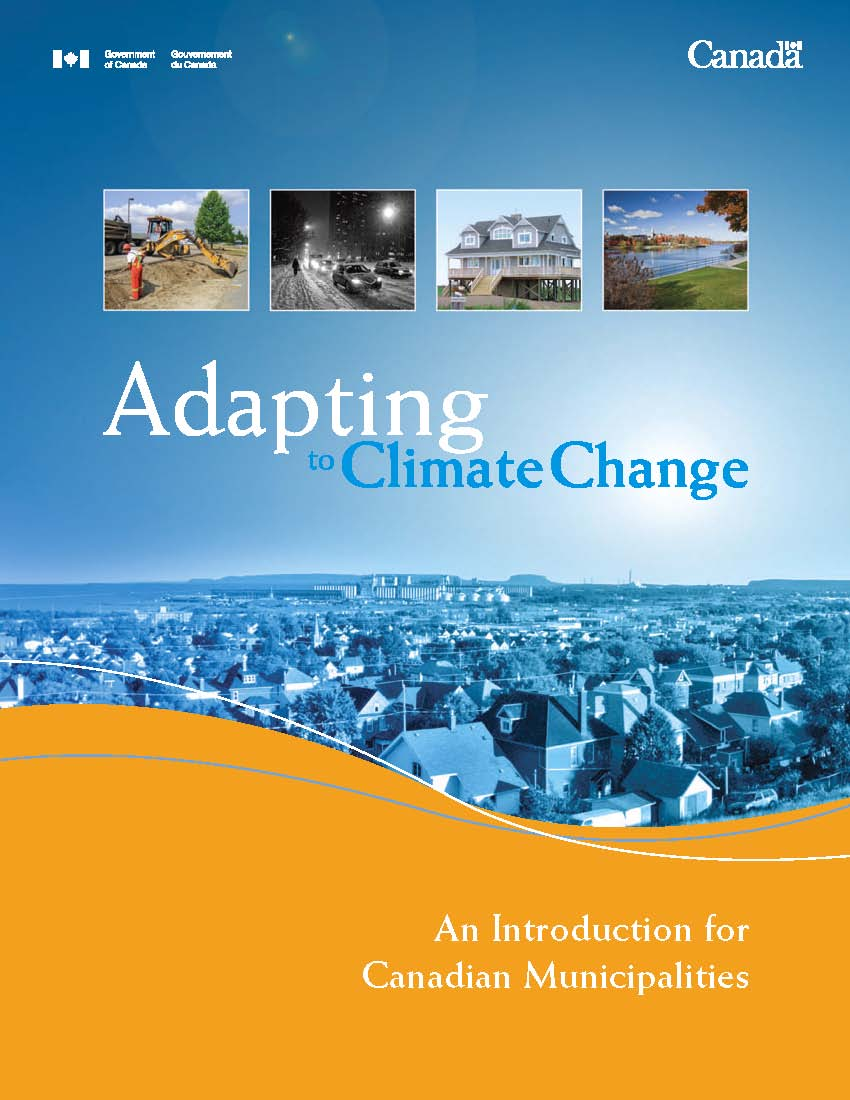 Adapting to Climate Change_An Intro for Canadian Municipalities_cover