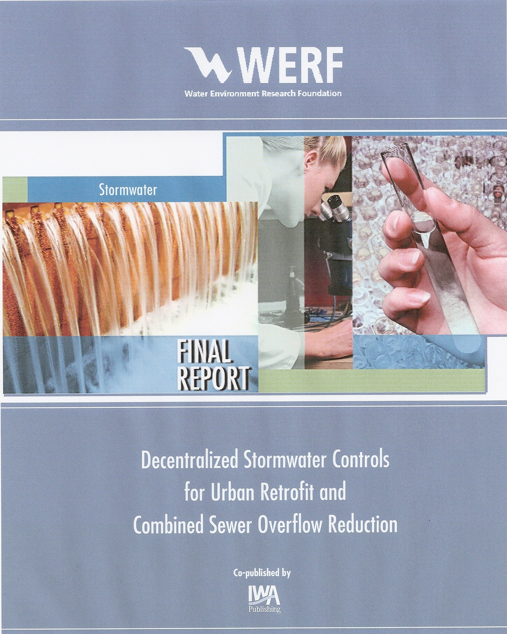 WERF_Decentralized Stormwater Controls_2006_cover