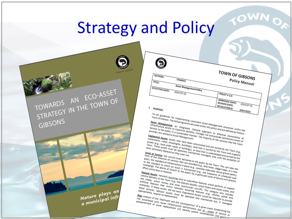 Gibsons Natural Asset Mgmt_policy & strategy