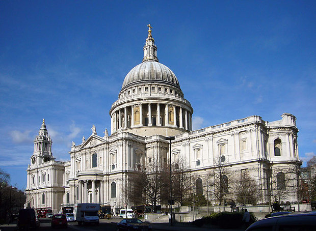 St Paul's Cathedral could be as beneficial to health as a walk in the woods (Source: The Telepgraph)