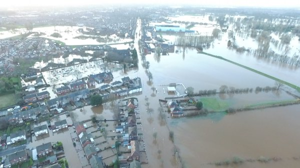 In Dec 2015, distressing images of flood damage and destruction in Cumbria, northern England prompted calls for further investment in UK flood defences and fearful talk of climate change.