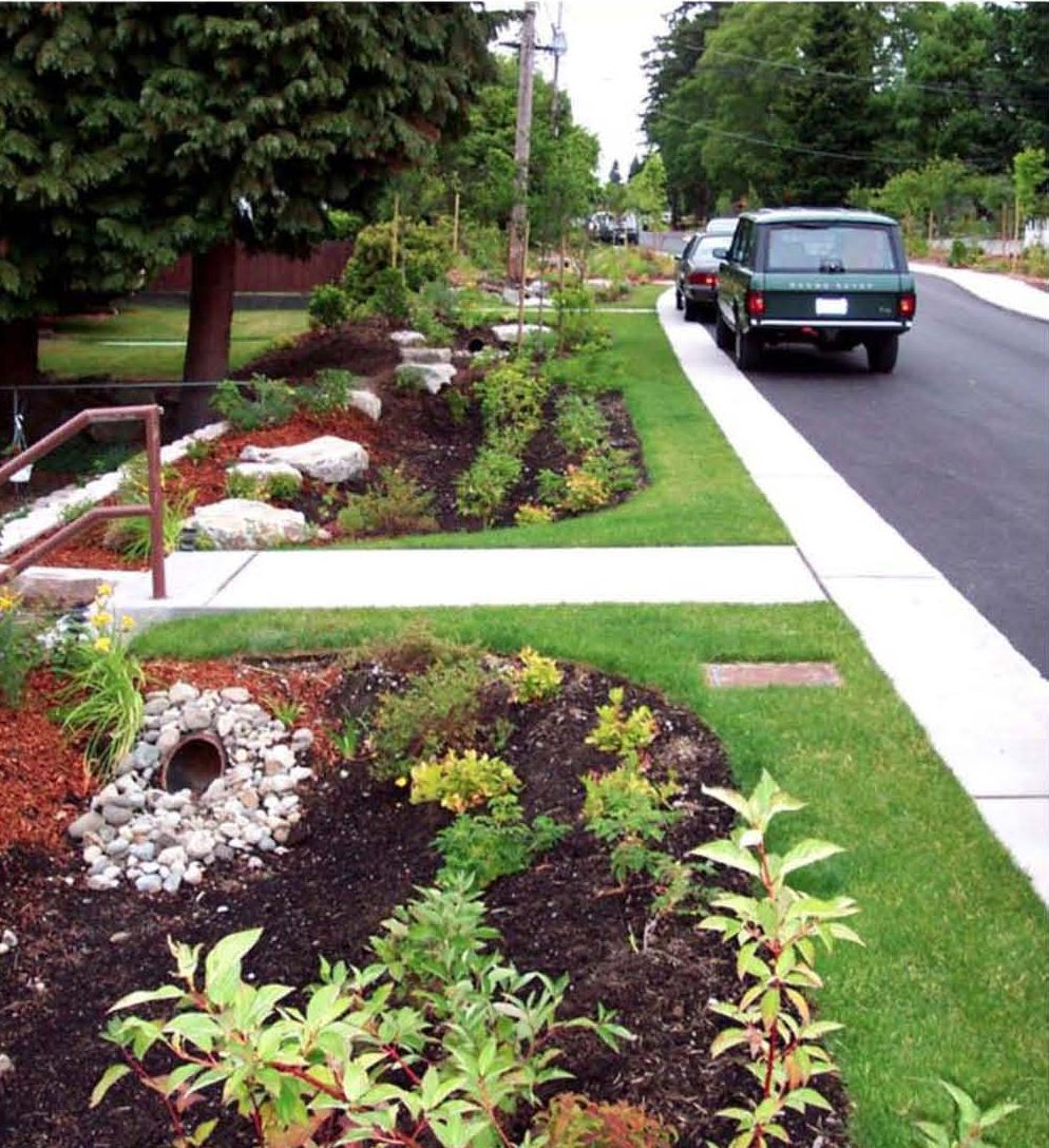 Op ed do green streets actually work for stormwater - Jonathan s restaurant garden city ...