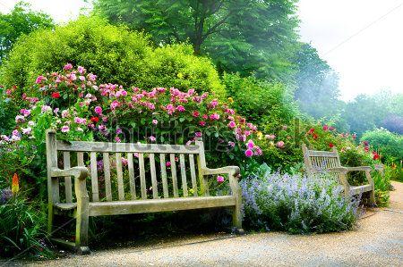 An English park setting