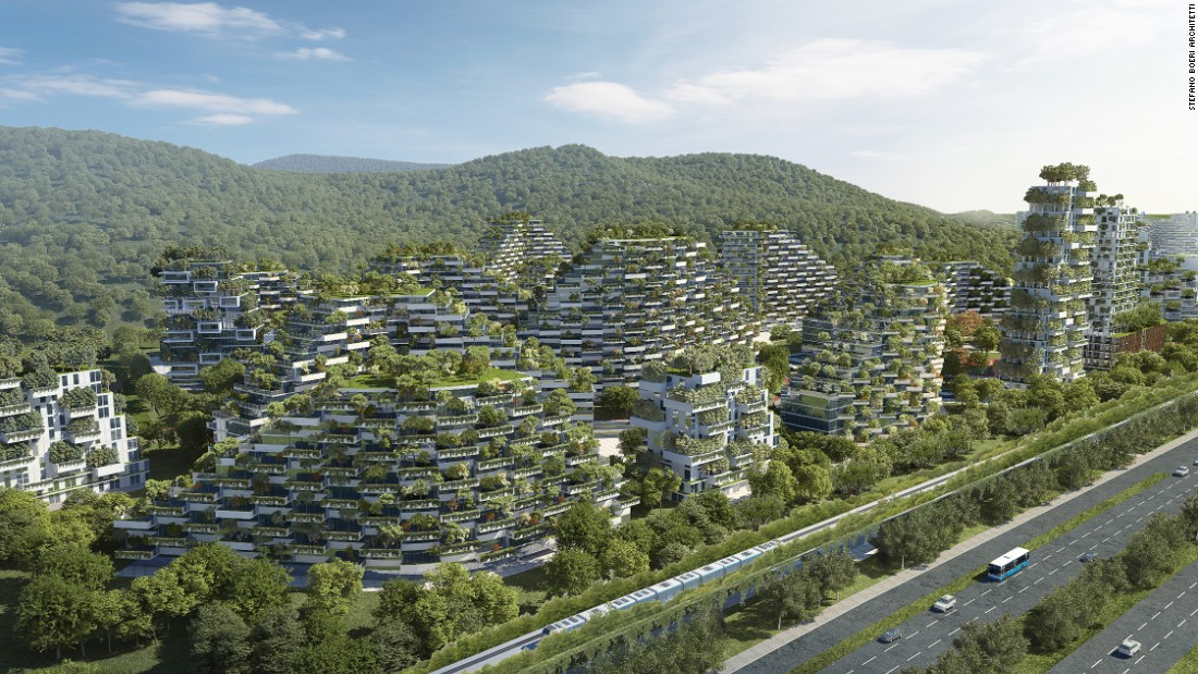 Liuzhou Forest City, China. CREDIT: Stefano Boeri Architect