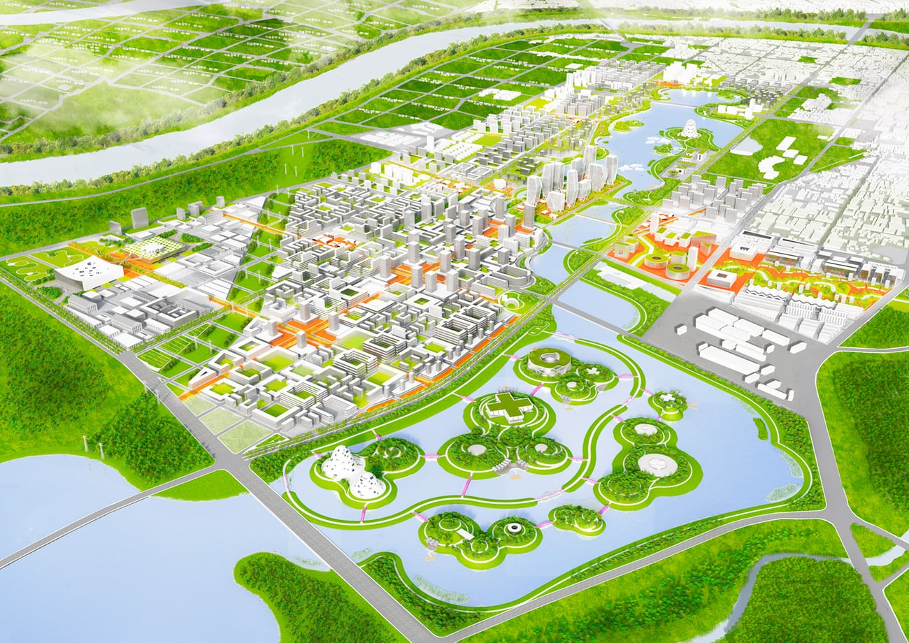 Sponge Cities: a new model for China (CREDIT: https://www.theguardian.com/cities/2017/sep/25/what-flood-proof-city-china-dhaka-houston)