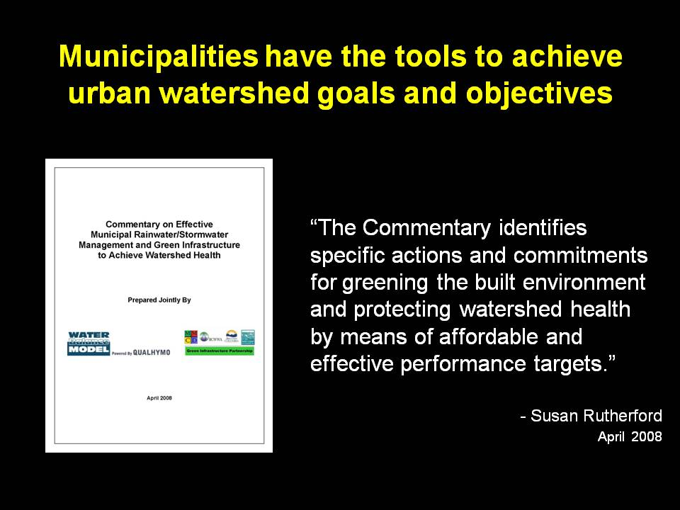 2008_Green Infrastructure Commentary_Susan quote