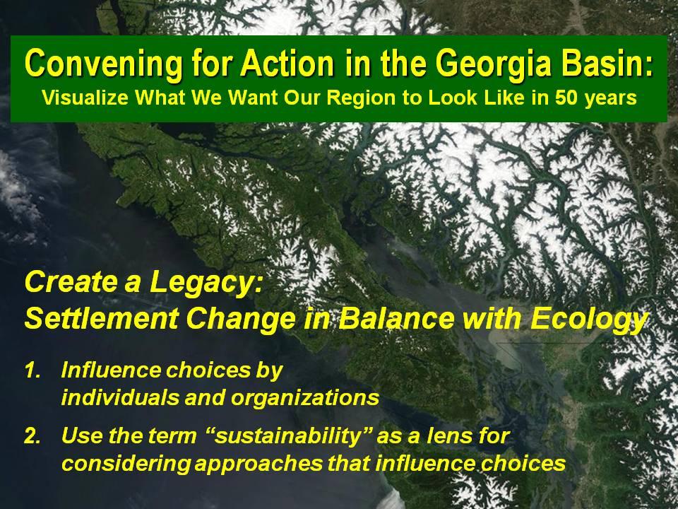 Creating a Legacy - Georgia Basin_Jan2010
