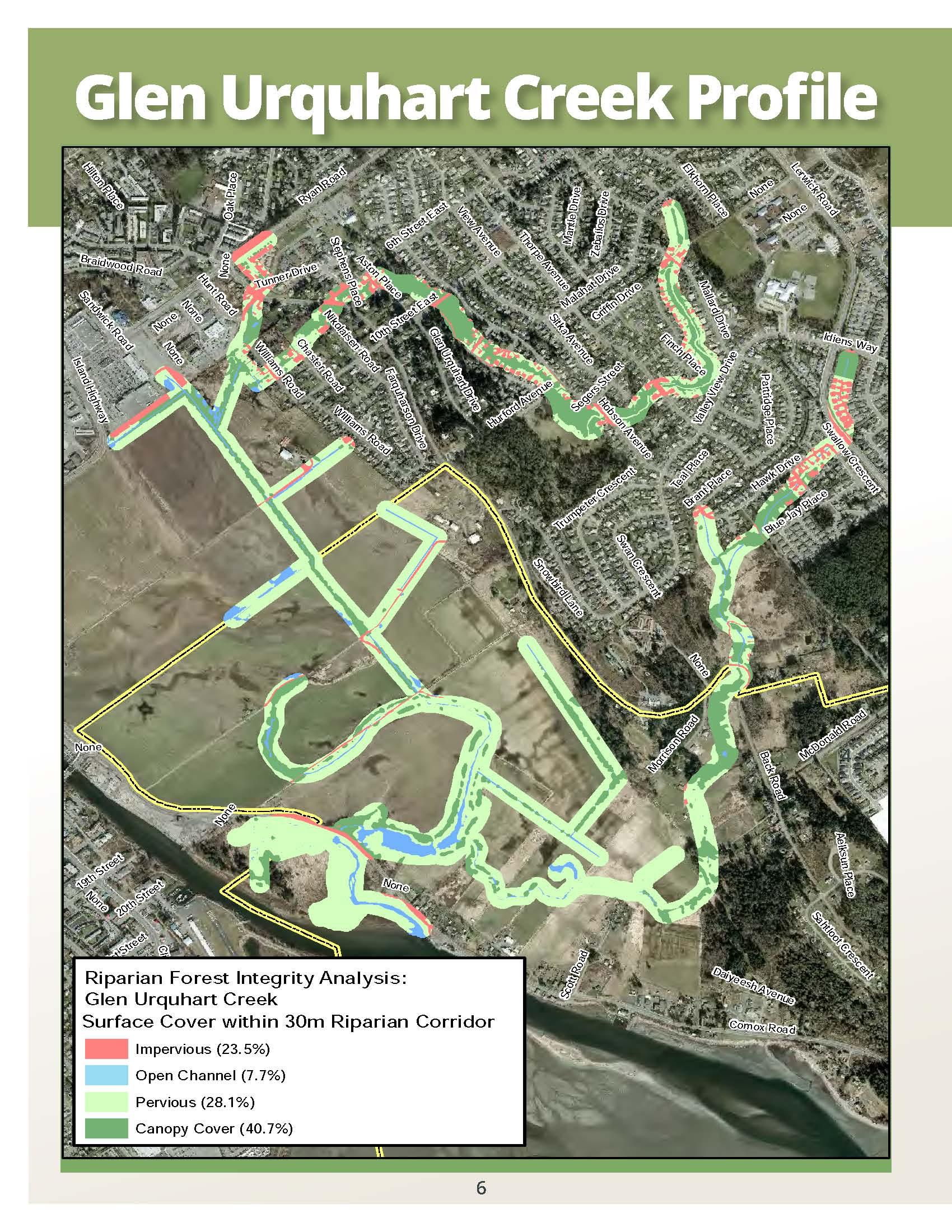 Courtenay_Glen Urquhart Creek_aerial plan