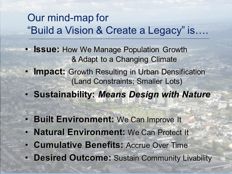 Build Vision & Create Legacy_2014