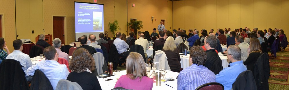 "Workshop hosted by the Rideau Valley Conservation Authority in the Ottawa region on Oct 30, 2014 attracted 96 registrants to hear ""the BC story"""