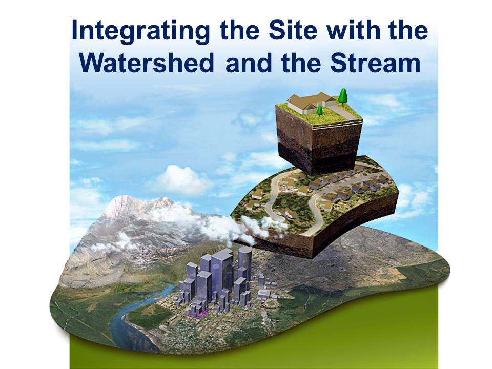 Integrating Site, Watershed and Stream
