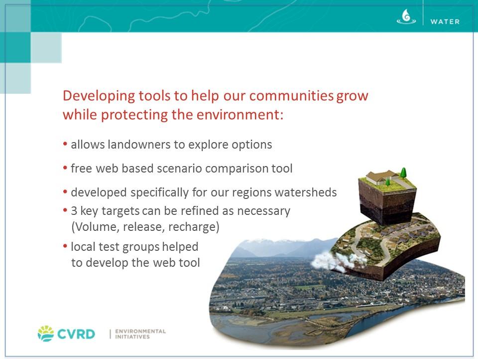 CVRD-Kate Miller presentation April 2014_synopsis slide
