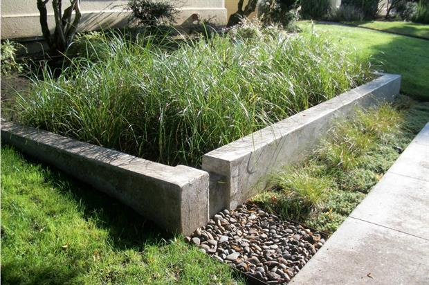 Sustainable Urban Drainage Systems (SUDS) are key to flood mitigation in cities. (Acknowledgment: Horticulture Week)