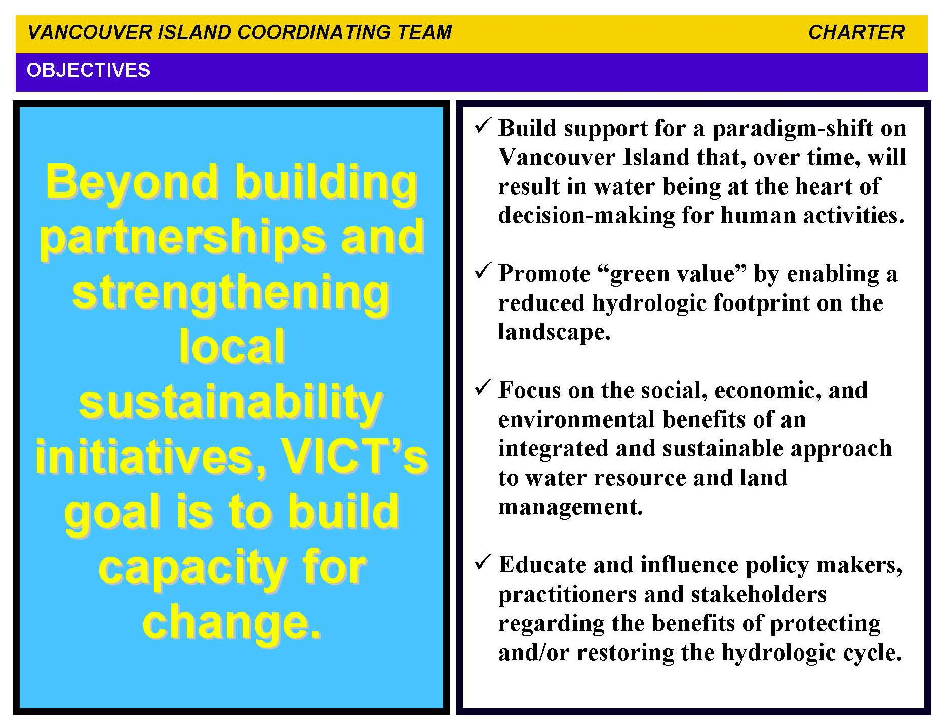 VICT Charter_2008