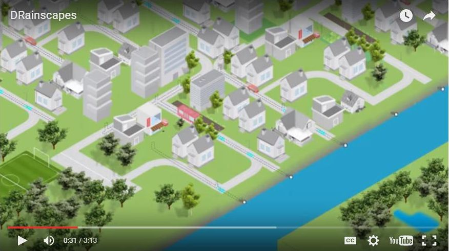 Click on the image above to view the DRainscapes video (embedded on the Water Balance Model Express for Landowners)
