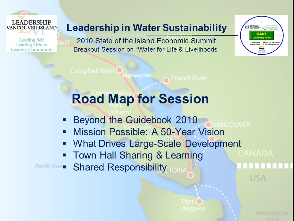 2010 Van Island Summit_road map