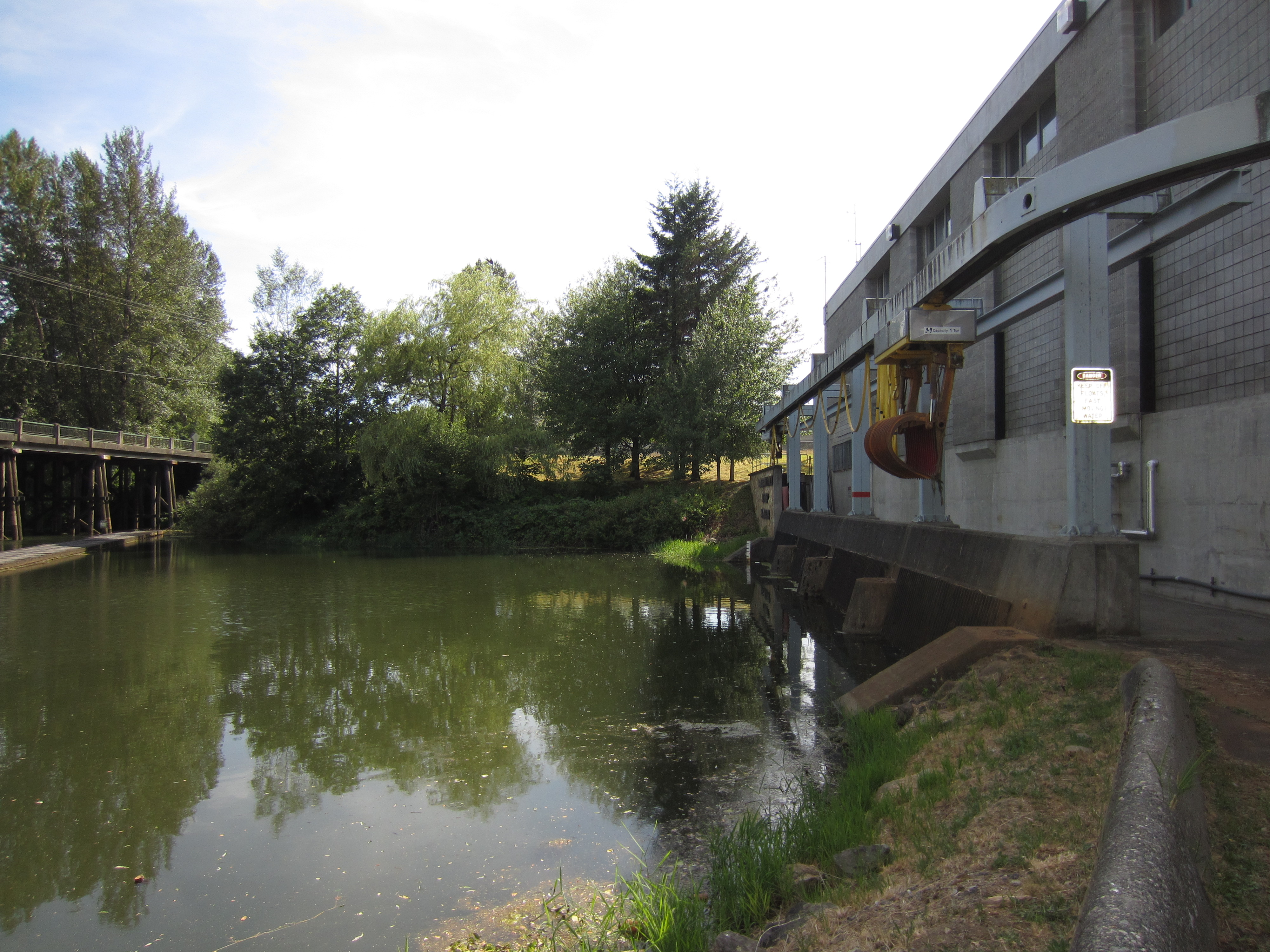 Barrowtown Drainage Pump Station in the City of Abbotsford