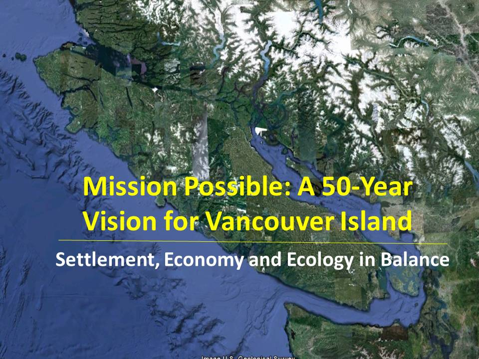 Mission Possible - Settlement, Economy and Ecology in Balance